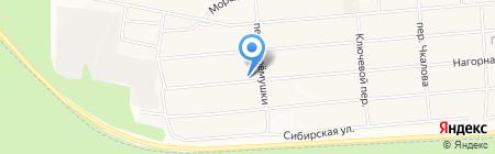 Ульяна на карте Братска