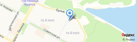 Гламур на карте Братска