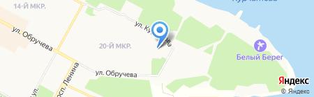 Братский индустриально-металлургический техникум на карте Братска
