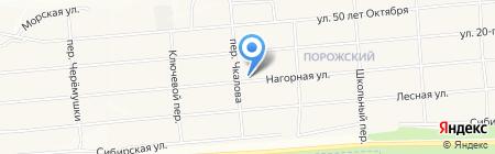 Дебют на карте Братска