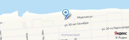 Городская поликлиника на карте Братска