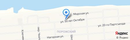 Детский сад №1 на карте Братска