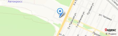 Следственный отдел по Падунскому району г. Братск Следственного Управления Следственного комитета РФ по Иркутской области на карте Братска