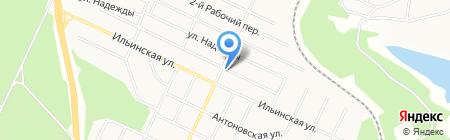 Удачный на карте Братска
