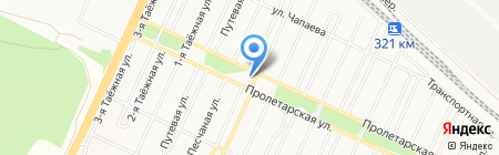 Ветеринарная аптека на карте Братска