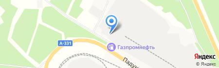 Братская птицефабрика на карте Братска