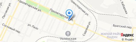 Центр ГАЗ на карте Братска