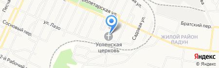 Библиотека православной церкви Успения Божией матери на карте Братска