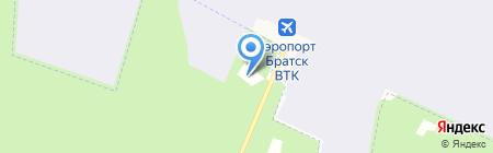 АэроБратск на карте Братска