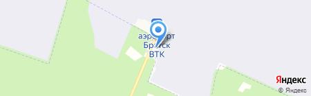 Пилот на карте Братска