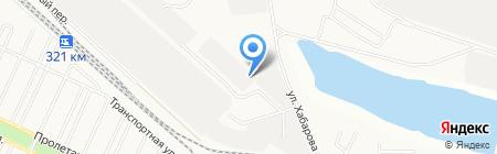 ЮНиК на карте Братска