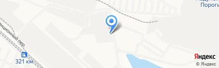 ПМК на карте Братска