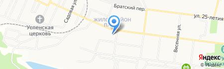 Отдел военного комиссариата Иркутской области по г. Братск на карте Братска