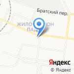 Отдел Военного комиссариата Иркутской области по г. Братску на карте Братска