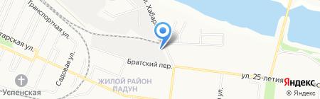 Московская торговая компания на карте Братска