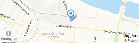 Алтай на карте Братска