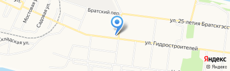 Властелин на карте Братска