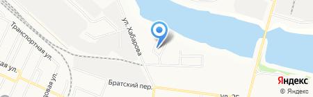 Падунский ветеринарный участок на карте Братска