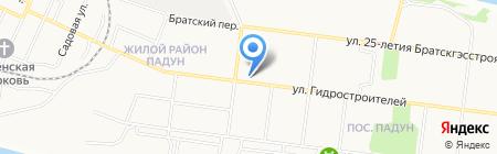 УИИ Уголовно-исполнительная инспекция ГУФСИН России на карте Братска