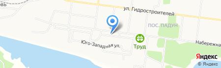 Продуктовый магазин №103 на карте Братска