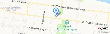 Карамель на карте Братска