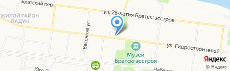 Абсолют на карте Братска