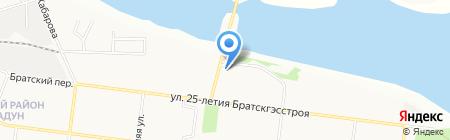 Иркутскэнергосбыт на карте Братска
