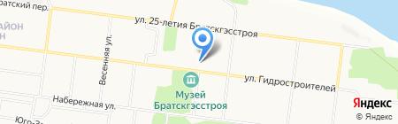 ТРАНС СЕРВИС на карте Братска
