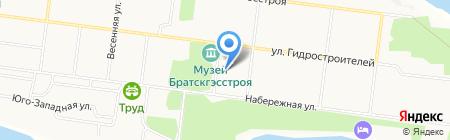 ФИСС на карте Братска