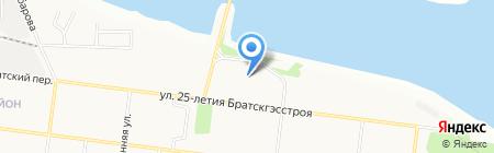 Maxim на карте Братска