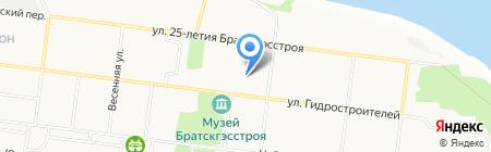 Медовая лавка на карте Братска