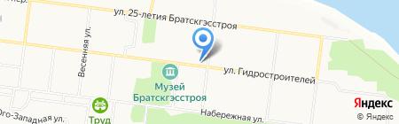 ЭНТЦ на карте Братска