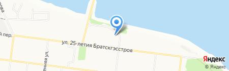 Магазин на карте Братска