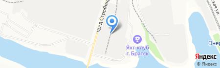 Печной магазин на карте Братска
