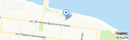 ПКК на карте Братска