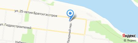 БизнесАльянс на карте Братска