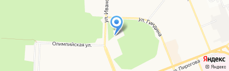 Центр на карте Братска