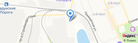 МПАТП на карте Братска