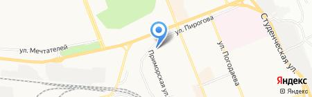 Ортодент на карте Братска