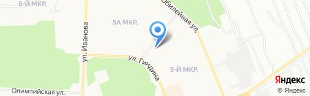 Почтовое отделение №30 на карте Братска