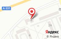 Схема проезда до компании Континенталь в Братске