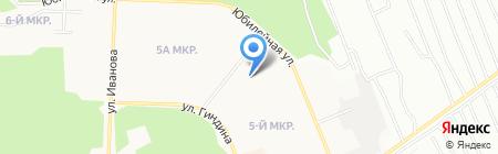 Детский сад №135 на карте Братска