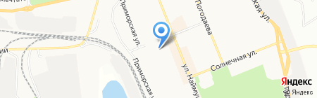 ARNI athletic studio на карте Братска