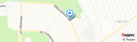 Русич на карте Братска