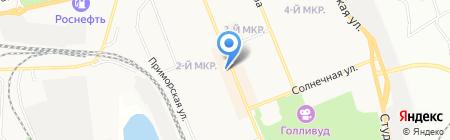 Фабрика натяжных потолков на карте Братска