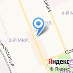 VIP на карте Братска