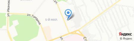 Братское отделение Иркутской авиабазы на карте Братска