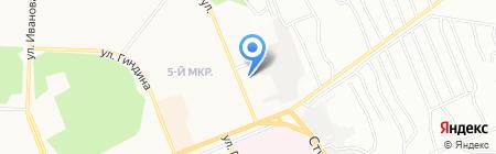 Территориальное отделение агентства лесного хозяйства Иркутской области по Падунскому лесничеству на карте Братска