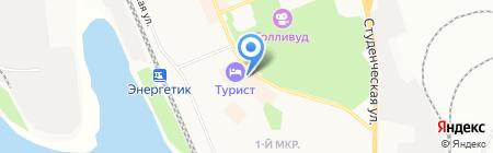 Мамино солнышко на карте Братска