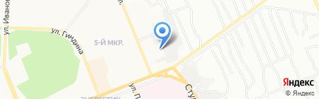 АЗС Братский бензин на карте Братска